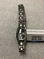 Seiko SUP317 Women's Solar Watch Pre Owned And Scratched No Tags