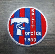ULTRAS punkhooligan ricamate patch Hajduk Split 1950 Torcida Croazia Croatia ustasa