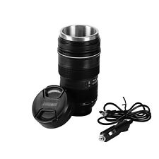 EAST New Car Electric Heated Camera Lens Thermos Mug Stainless Steel Coffee Cup