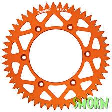 RFX Pro Rear Sprocket Orange KTM SX XC EXC 125 150 200 250 91-16 51t 51 Tooth