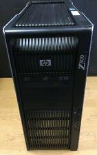 HP Z800 2x XEON x5650 2,66GHz 12xCORE RAM 6GB DDR3 QUADRO 2GB Windows10