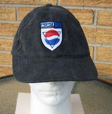 NOS Vintage 90's Pepsi shield Federation Baseball logo Cap Hat Cola trucker soda