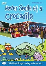 Never Smile at a Crocodile DVD - Children's Kids Songs Rhymes Music Dance! *New*