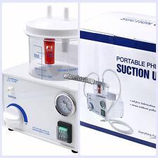 Dental Medical Emergency Vacuum Phlegm Suction Unit Electric Fda Portable