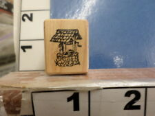 Wishing well   RUBBER STAMP 2w