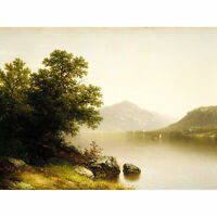 Casilear Lake George New York Landscape Painting XL Canvas Art Print