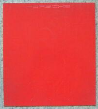 PORSCHE 944 Car Sales Brochure For 1983 #103220 7/82