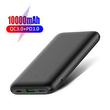 10000mAh 20W Type C Usb Fast Charging Portable Power Bank Battery Phone Charger