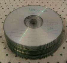 20 Pack Verbatim Blank Media Recordable CD-R 700 MB 52x Speed 80 Min CDR CD R
