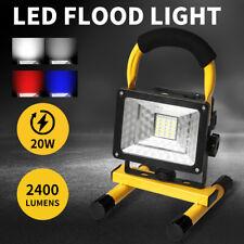 30W LED Flood Light Portable Rechargeable Garden Spotlight Outdoor Work Lights