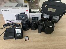 Canon EOS 200D 24.2MP Digitalkamera - Schwarz (Kit mit EF-S...