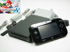 Nintendo Wii U Konsole Premium Pack 32 GB Schwarz mit Mario Kart 8 ~8408