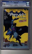 Batman (2011) # 24 NYCC Capullo Variant - CGC 9.6 WHITE Pages- Philip Kane Death