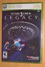 Star Trek Legacy (Microsoft Xbox 360) NEW FACTORY SEALED - Bethesda Video Game