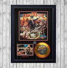 ELTON JOHN CAPTAIN FANTASTIC CUADRO GOLD O PLATINUM CD EDICION LIMITADA. FRAMED