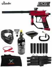 Maddog Azodin Kaos 3 Corporal Hpa Paintball Gun Marker Starter Package Red Black