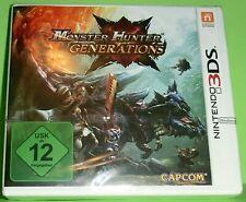 Monster Hunter Generations (Nintendo 3DS Spiel) NEU