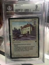 BGS 9.0 MOAT English Legends Mtg Magic Quad 9 Mint 1994 Beckett Graded