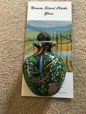 Norman Stuart Clarke Glass Lost Gardens Perfume Bottle