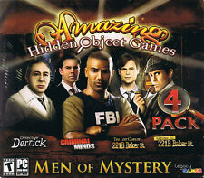 Amazing Hidden Object Games: Men of Mystery (PC, 2013, Legacy Games)