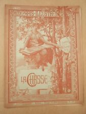 LAHURE, PARIS ILLUSTRE 1er Septembre 1884 N° 19 : LA CHASSE