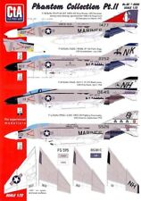 New ListingCta Decals 1/72 Mcdonnell Douglas F-4 Phantom Ii Collection Part 2