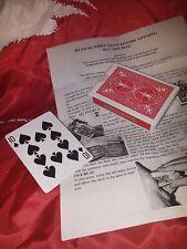 Shrinking Deck of Playing Cards Jon Racherbaumer Bacchus Manufacturing 1996