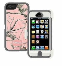 Genuine OtterBox Defender Series Case for iPhone 5 Camo AP Pink Retail Package