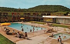 Holiday Inn Cave City KY James B Shaw Innkeeper Poolside View Hotel Postcard
