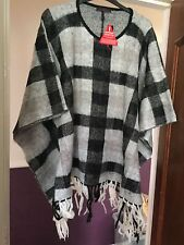WOMENS NEW SO FABULOUS PONCHO CAPE  LADIES  SIZE 14 16 18 20 22 24 26 28  BNWT