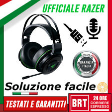 Razer Trebbiatrice Ultimate Per Xbox One Wireless Cuffie Gaming 7.1 Surround Sound
