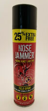 Nose Jammer Scent Masking 25% More 8oz Aerosol Field Spray Archery Hunting