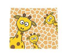 Giraffe Microfibre Glasses Lens Phone Screen Cleaning Cloth Fun Novelty Gift