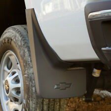 14-18 Silverado Splash Guards / Mud Flaps- Front & Rear- Black Molded- GM New #