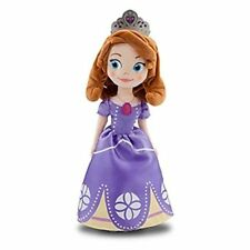 Disney Sofia Plush 13 inch Sofia the First Once Upon a Princess Stuffed Doll Toy