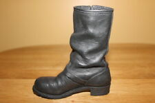 "Just The Right Miniature Shoe "" Motorcycle Boot "" item # 25504 with box 1999 Coa"