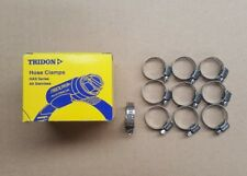 Tridon Worm Drive Hose Clamps Pack of 10 All Stainless Steel 13mm to 25mm MAH008