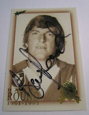 Barry Round (South Melbourne / Sydney) signed AFL Hall of Fame Card +Photo Proof