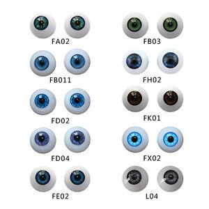 For 22mm Reborn Baby Doll Eyes Half Round Acrylic Eyeball Newborn Supplies Newly