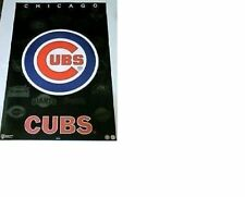 """New listing MINT 1994 CHICAGO CUBS """"MLB BASEBALL LOGO"""" POSTER CUBS WIN!! CHRIS BRYANT TIME"""