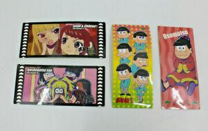 Osomatsu San Stickers Joshimatsu FA/O Japanese Anime Fujio Akatsuka Set of 4