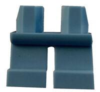 Lego 2 Stück kurze sandlaue (sand blue) Beine Hosen für Minifiguren 41879 Neu