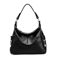 Women Real Leather Handbag Genuine Cowhide Shopping Traveling Shoulder Bag Tote