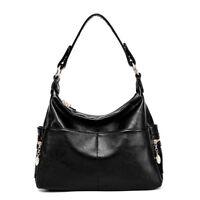 Women Real Leather Handbag Genuine Cowhide Shopping Traveling Shoulder Bag Tote