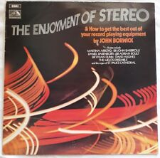 The Enjoyment Of Stereo LP.1970 His Master's Voice SEOM 6.Martina Arroyo/Melos+