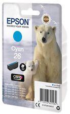 Epson Ours Polaire 26 Cyan Cartouche D'Encre Claria Premium (non Étiquette)