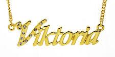 Würdigung Stilvoll Personalisierte Geschenke Mode Vergoldet Namenskette SONJA