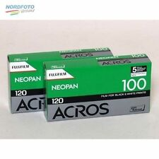 FUJI Neopan Acros 100 Schwarzweißfilm, 120, 2x 5 Stück