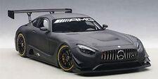 1/18 Autoart Mercedes AMG GT3 Plain Body Versión (mate negro) (composite Mo
