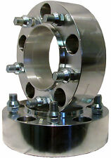 """Aluminum ADAPTER SPACER 5/150 to 5/150 Bolt Pattern Circle 2"""" Thick  Hub Centric"""